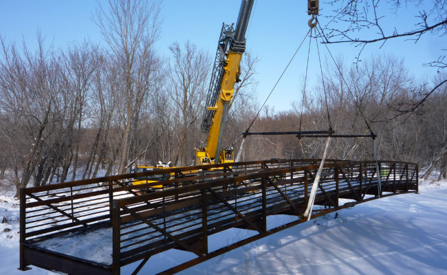 Sand Creek Bridge Replacement, U S Fish & Wildlife Service